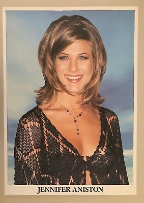 Used, JENNIFER ANISTON,PHOTO BY JEFFREY MAYER, AUTHENTIC 1990's POSTER for sale  Shipping to United States