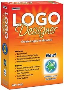 LOGO-DESIGNER-Software-PC-amp-Mac-Design-Logos-in-Minutes-brand-new