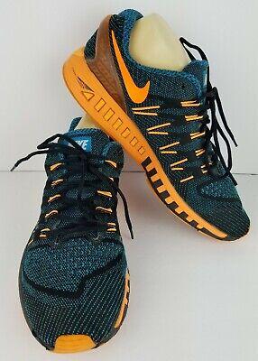 Nike Mens Air Zoom Odyssey Size 14 Blue Black Orange Athletic Shoes