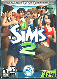 PC GAME - THE SIMS 2 - SPECIAL DVD EDITION - (The Original) - (NEW SEALED)