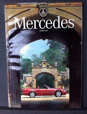 MERCEDES Magazine - Summer 1997 - CLK, A-CLASS and SL
