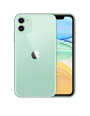 Apple iPhone 11 - 64GB - Green (Unlocked) A2111 (CDMA + GSM) Mint Condition!