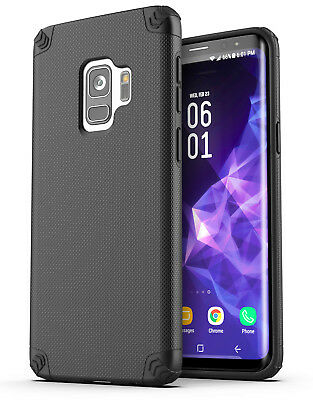 Galaxy S9 Protective Case Heavy Duty Tough Shockproof Slim P