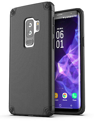 Galaxy S9 Plus Protective Case Heavy Duty Tough Shockproof S