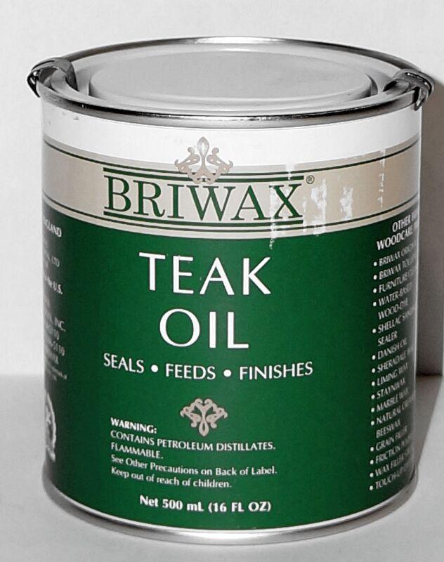 Briwax Teak Oil ~ 16 oz (500ml)