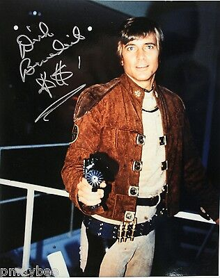 Autographed 8 X10  Photo   Dirk Benedict As Lt  Starbuck In Battlestar Galactica