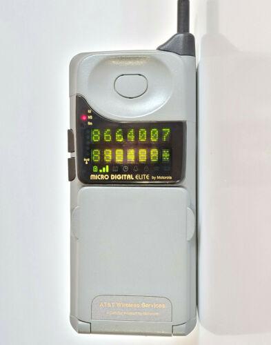 MOTOROLA MICRO DIGITAL ELITE - BRICK CELL PHONE MOBILE TELEPHONE VINTAGE RETRO