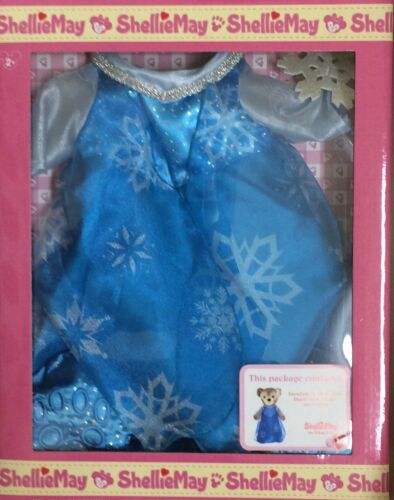 BNWT Disney Parks ShellieMay Duffy Bear Frozen Elsa Outfit Clothes Shellie May