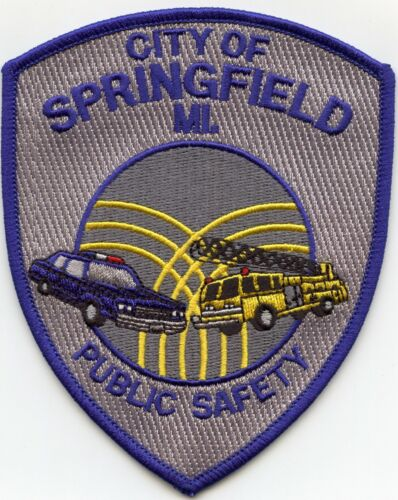 SPRINGFIELD MICHIGAN MI PUBLIC SAFETY FIRE POLICE PATCH