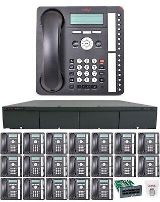 Avaya Ip Office 500 V2 8.1 Business 20 Voip Phone System Essential Voicemail Pri
