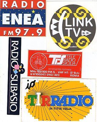 Radio Enea - Tirradio - Radio Subasio - TeleRadio Sicilia -Link TV...