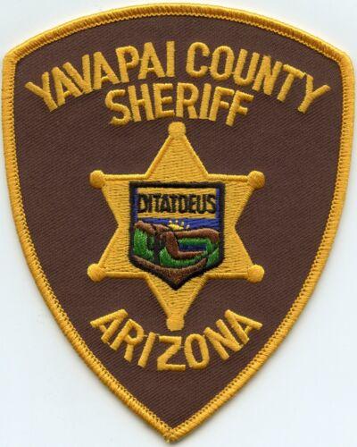 YAVAPAI COUNTY ARIZONA AZ SHERIFF POLICE PATCH