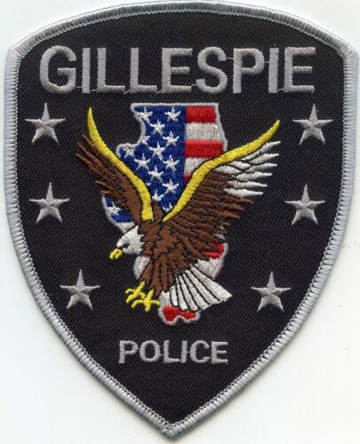GILLESPIE ILLINOIS IL POLICE PATCH