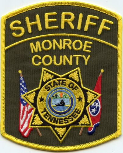 MONROE COUNTY TENNESSEE TN SHERIFF POLICE PATCH