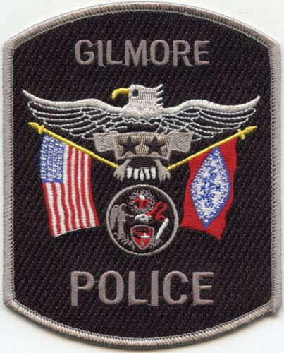 GILMORE ARKANSAS AR State Flag POLICE PATCH
