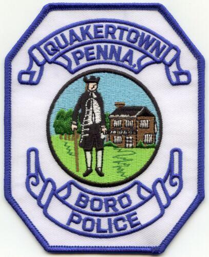 QUAKERTOWN BORO PENNSYLVANIA PA POLICE PATCH