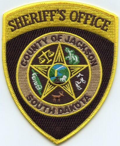 JACKSON COUNTY SOUTH DAKOTA SD SHERIFF POLICE PATCH