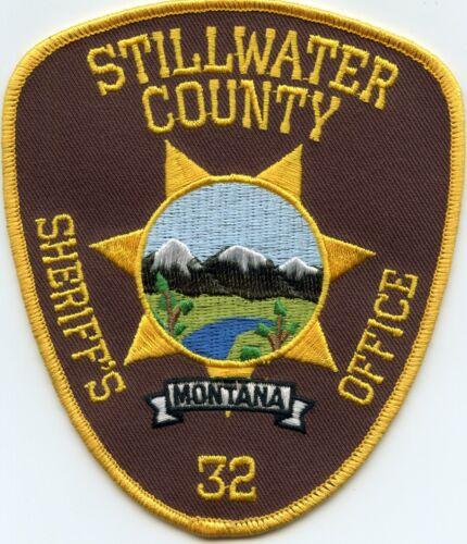 STILLWATER COUNTY MONTANA MT SHERIFF POLICE PATCH