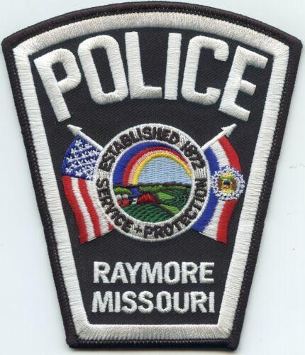 RAYMORE MISSOURI MO Rainbow POLICE PATCH