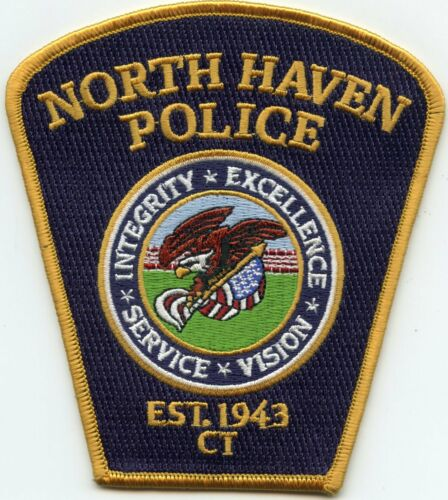 NORTH HAVEN CONNECTICUT CT POLICE PATCH