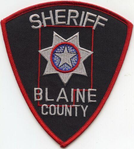 BLAINE COUNTY OKLAHOMA OK SHERIFF POLICE PATCH