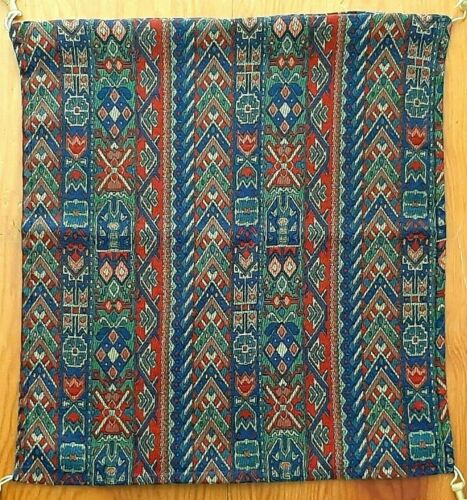 Vintage Old Rug Patterned Throw Pillow Cover - Tribal Ethnic Textile