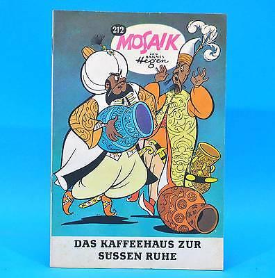 Mosaik 212 | Digedags Hannes Hegen Originalheft | DDR | Sammlung original RJ 18