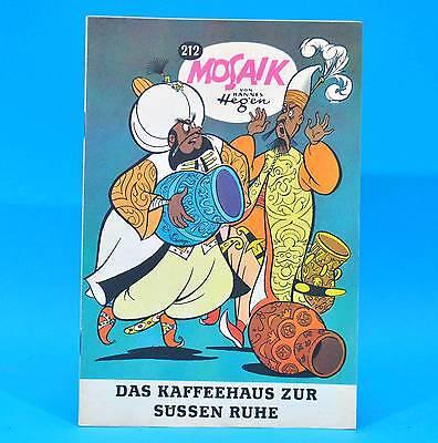 Mosaik 212 | Digedags Hannes Hegen Originalheft | DDR | Sammlung original RJ 5