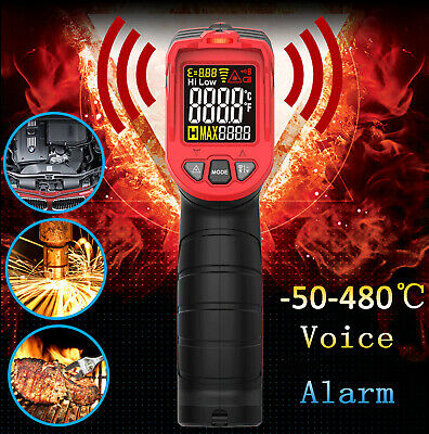 Us Industrial Digital Thermometer Laser Infrared Temperature Gun Lcd Non-contact