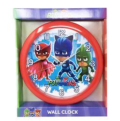 Pj Masks Owlette Gekko  Clock Room Decoration Mount Clock for Kids
