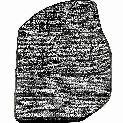 EGYPTIAN ROSETTA STONE WALL SCULPTURE ANTIQUE REPLICA REPRODUCTION ANCIENT EGYPT