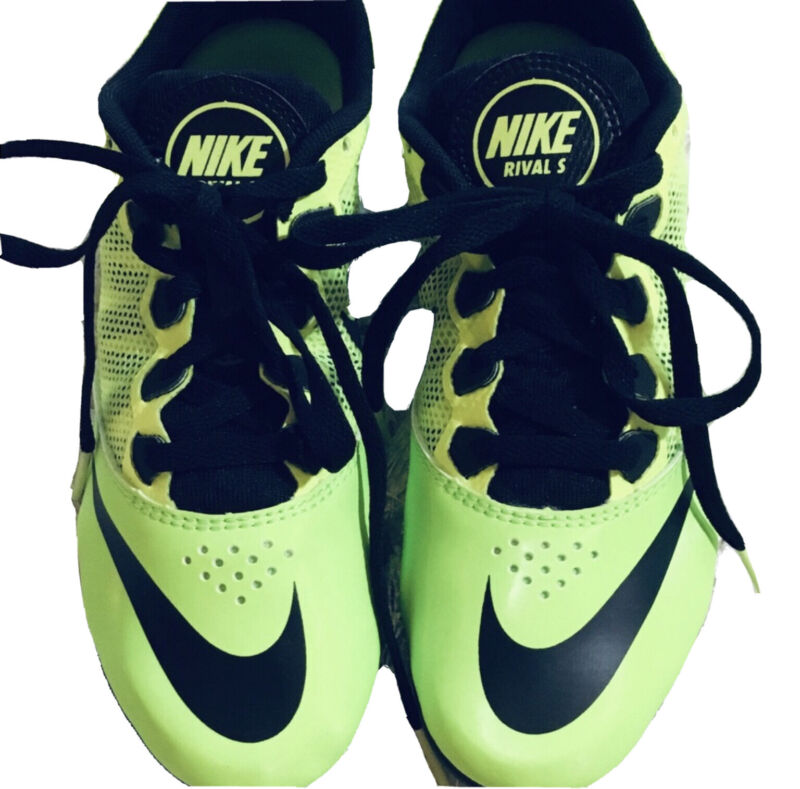 NIKE Womens size 6.5 RIVAL S SPIRNT RACING CLEATS EUC