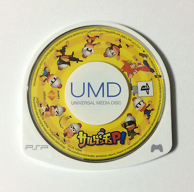 USED PSP Disc Only Sarugetchu P! JAPAN Sony PlayStation Portable Ape Escape P
