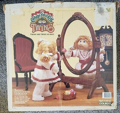 1985 Cabbage Patch Kids Twins Dolls