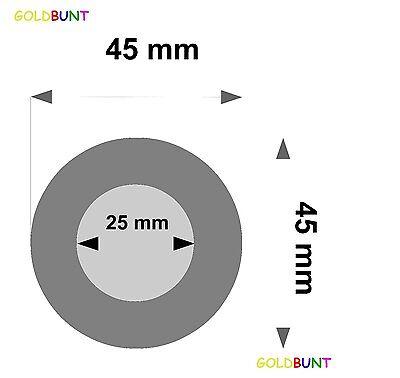 2 Ohrpolster 45 mm für zB Sony  MDR-G55 , MDR-005 Kopfhörer