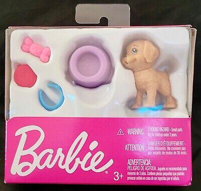 Mattel Barbie Puppy Dog and Accessories New Unopened