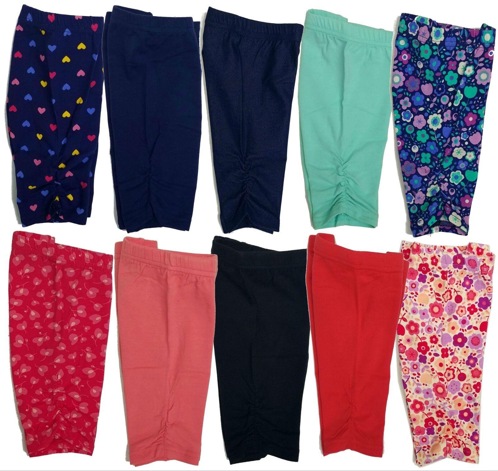 Lot Baby Girls Leggings Pants 12 18 24 Months and Toddler Gi
