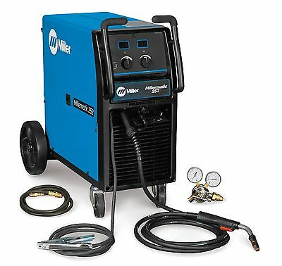 Millermatic 252 Mig Welder W 400.00 Rebate1 Making Machine 2535.00