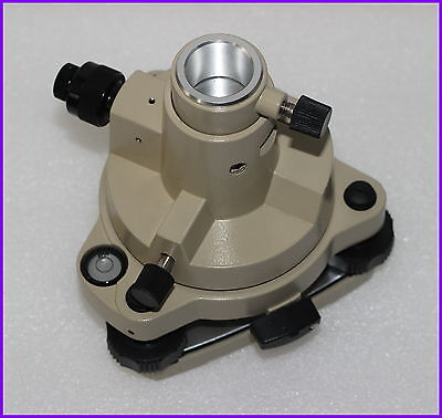 New Camel Color Tribrach Adapter With Optical Plummet For Topcon Total Station