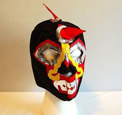 WARRIOR Black LUCHADOR KIDS Mask lucha libre wwe libre Halloween NEW - Luchador Halloween Costume