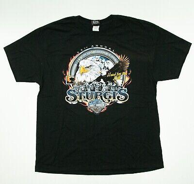 Harley Davidson Sturgis Black Hills 2013 Bike Rally South Dakota T-Shirt Blk XL