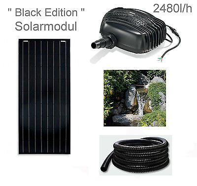 100 W Solar Stream Pump Pond Pump Dive Solar Pump Pond Waterfall Pump NEW