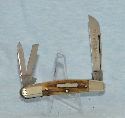 """FIGHT'N ROOSTER STAG CONGRESS WHITTLER KNIFE """"NEAR MINT!! NO CASE /BOX"""