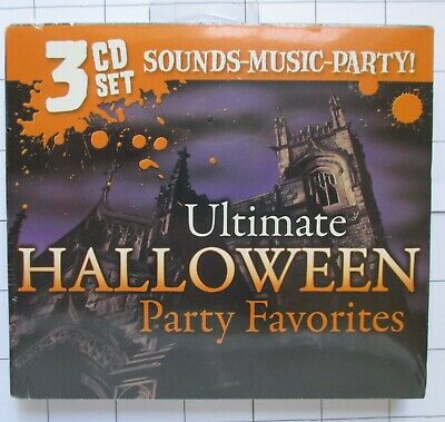 Halloween Sounds Songs (3 CD Set Ultimate Halloween Party Favorites Songs and Sound)