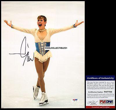 Tara Lipinski In Person Signed 11X14 Color Photo Psa Dna Coa