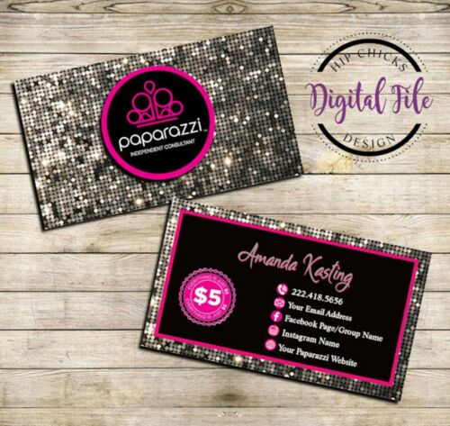 Paparazzi Jewelry Business Cards Digital Design - Customize it!