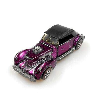 Hot Wheels 1971 Redline Spectraflame Magenta Classic Cord for your Rainbow…