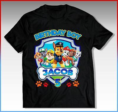 Paw Patrol Shirts (PAW PATROL Birthday Shirt, PAW PATROL Birthday T-Shirt, PAW)