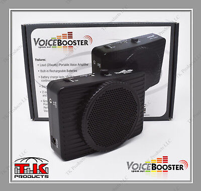 VoiceBooster Loud Portable Voice Amplifier 20 watt  MR2300 B