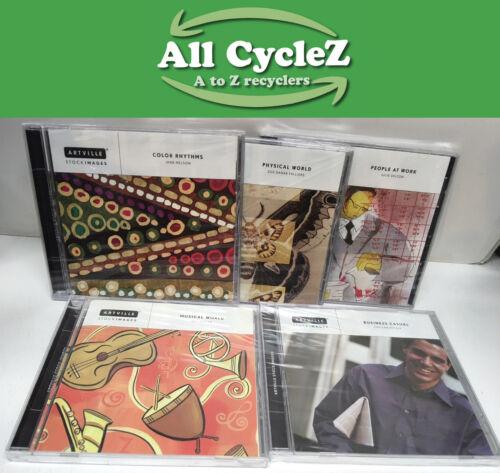 Lot of 5 Artville High Resolution stock photos CDs for Mac/Windows NEW!